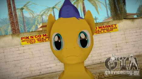 Flash Sentry from My Little Pony для GTA San Andreas третий скриншот