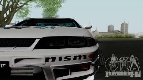 Nissan Skyline GT-R33 для GTA San Andreas вид справа