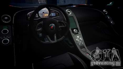 McLaren 650S Spider 2014 [EPM] v2.0 UK для GTA 4 вид изнутри