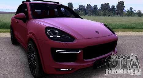 Porsche Cayenne Turbo S GTS 2015 для GTA San Andreas