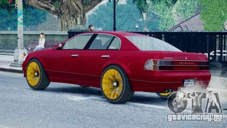 Intruder Sport для GTA 4 вид слева