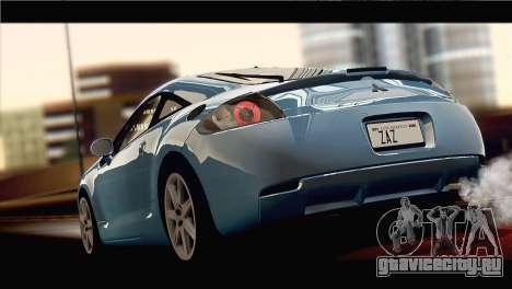 Mitsubishi Eclipse 2006 для GTA San Andreas вид слева