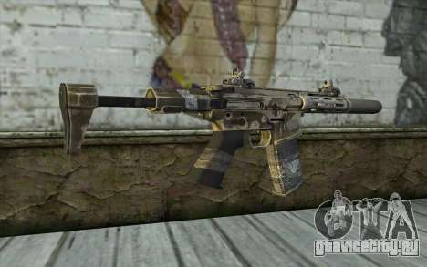 HoneyBadger from CoD Ghosts для GTA San Andreas