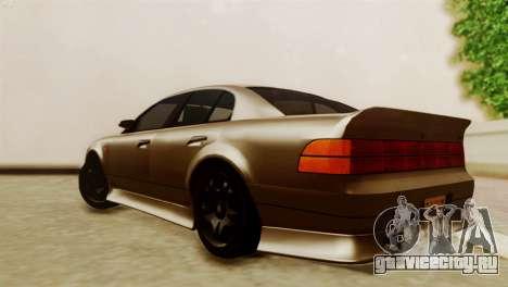 GTA 5 Intruder Tuning Bumpers для GTA San Andreas вид слева
