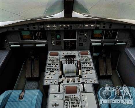Airbus A380-800F Lufthansa Cargo для GTA San Andreas салон