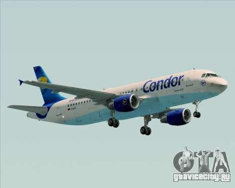 Airbus A320-200 Condor для GTA San Andreas вид слева