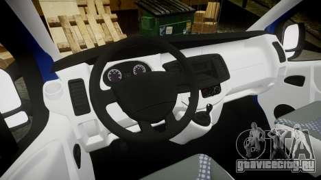 Renault Trafic Passenger для GTA 4 вид сзади