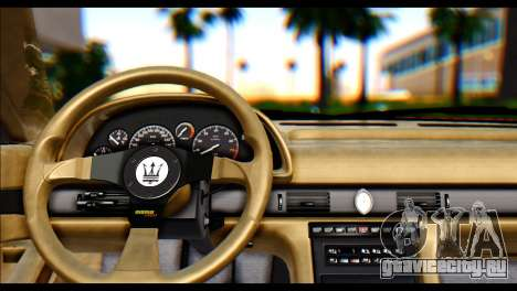 Maserati Ghibli II Cup (AM336) 1995 [ImVehFt] для GTA San Andreas вид сзади слева