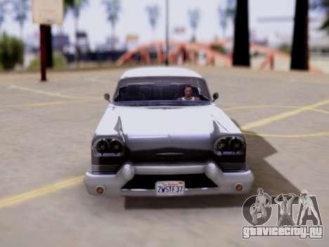 DeClasse Tornado GTA V для GTA San Andreas вид справа
