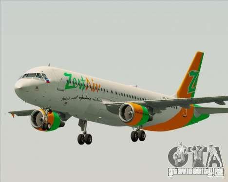 Airbus A320-200 Zest Air для GTA San Andreas