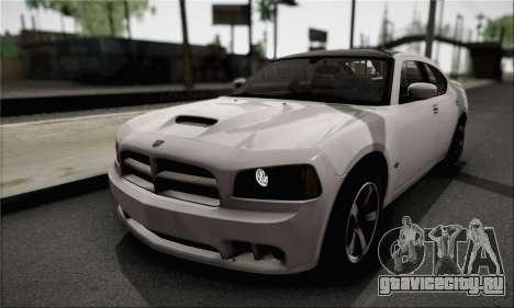 Dodge Charger SuperBee для GTA San Andreas вид сбоку
