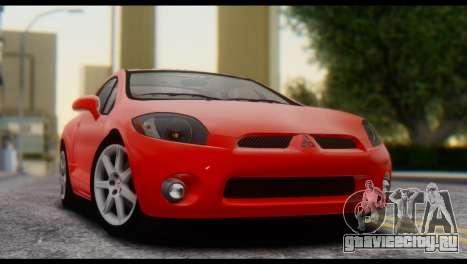 Mitsubishi Eclipse 2006 для GTA San Andreas вид справа