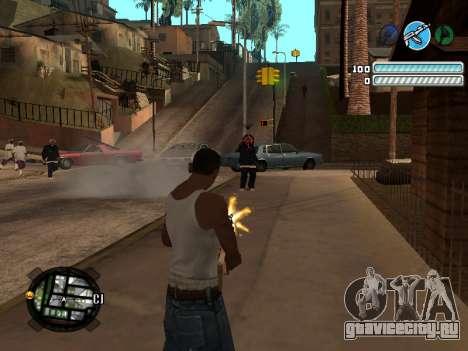 Respect C-HUD для GTA San Andreas