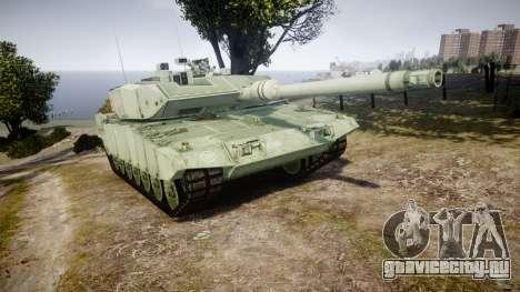 Leopard 2A7 CA Green для GTA 4