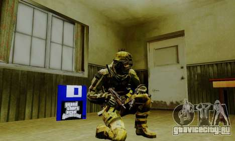 Weapon pack from CODMW2 для GTA San Andreas девятый скриншот
