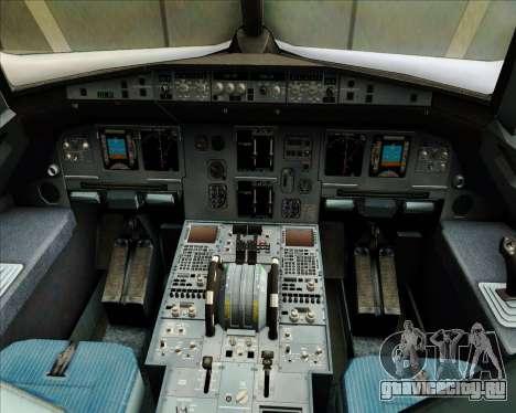 Airbus A320-200 JetBlue Airways для GTA San Andreas салон