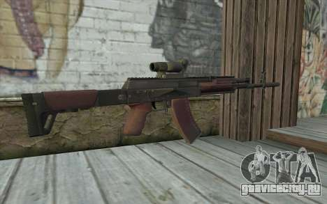 AEK from Battlefield 4 для GTA San Andreas второй скриншот