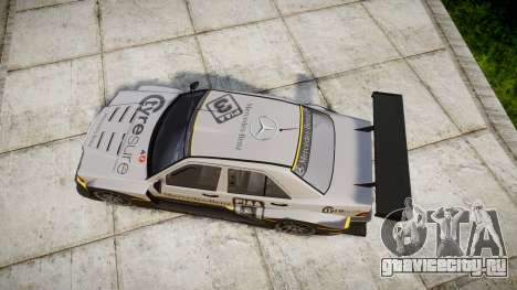 Mercedes-Benz 190E Evo II GT3 PJ 4 для GTA 4 вид справа