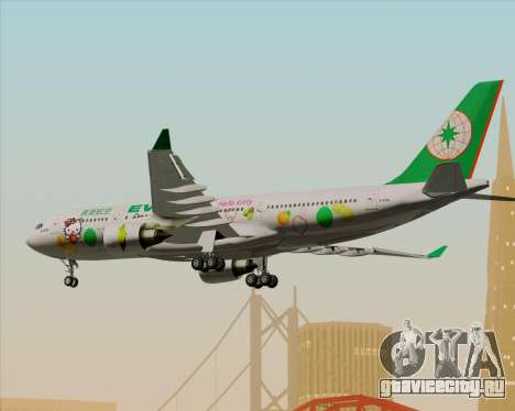 Airbus A330-200 EVA Air (Hello Kitty) для GTA San Andreas