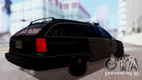 SD Chevy Caprice Station Wagon 1993 (1996) для GTA San Andreas вид слева