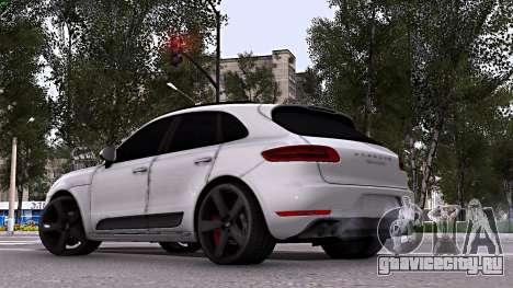 Porsche Macan для GTA San Andreas вид слева