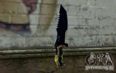 Knife from COD: Ghosts v1 для GTA San Andreas второй скриншот