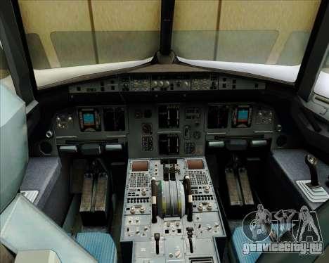 Airbus A320-200 Zest Air для GTA San Andreas салон