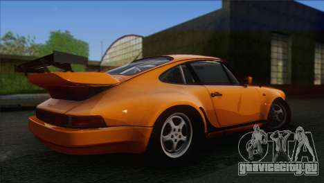 Porsche 911 Turbo 1982 Tunable KIT C PJ для GTA San Andreas вид сзади