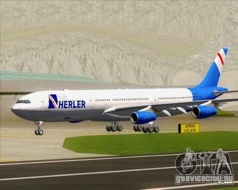 Airbus A340-300 Air Herler для GTA San Andreas вид слева