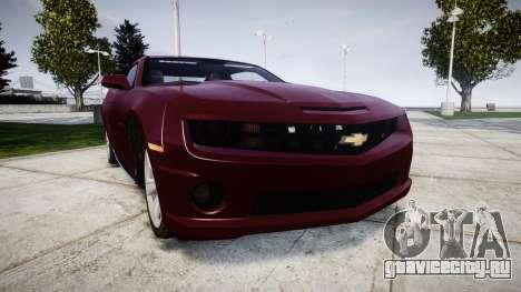 Chevrolet Camaro SS [ELS] Unmarked runners для GTA 4
