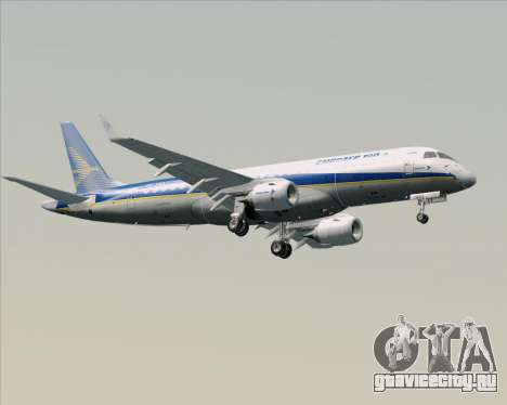 Embraer E-190-200LR House Livery для GTA San Andreas вид сверху