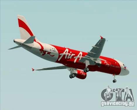 Airbus A320-200 Air Asia Philippines для GTA San Andreas