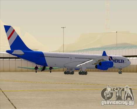 Airbus A340-300 Air Herler для GTA San Andreas