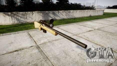 Снайперская винтовка с HQ текстурами для GTA 4