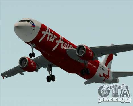 Airbus A320-200 Air Asia Philippines для GTA San Andreas двигатель