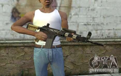 M4 MGS Aimpoint v1 для GTA San Andreas третий скриншот