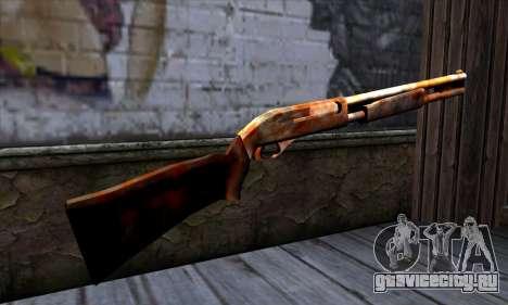 Chromegun v2 Ржавый для GTA San Andreas второй скриншот