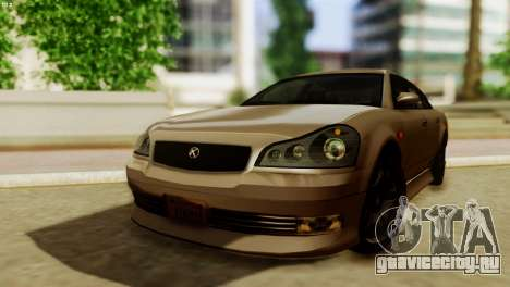 GTA 5 Intruder Tuning Bumpers для GTA San Andreas