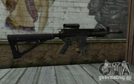 M4A1 from COD Modern Warfare 3 v2 для GTA San Andreas второй скриншот
