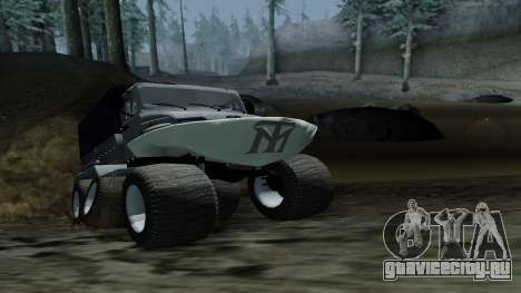 ЗиЛ Кержак 6х6 для GTA San Andreas вид сзади слева