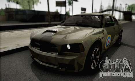 Dodge Charger SuperBee для GTA San Andreas вид изнутри