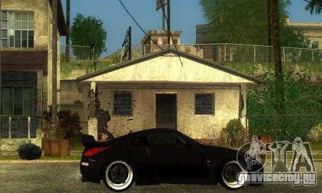 Nissan 350Z Drift для GTA San Andreas вид сзади слева