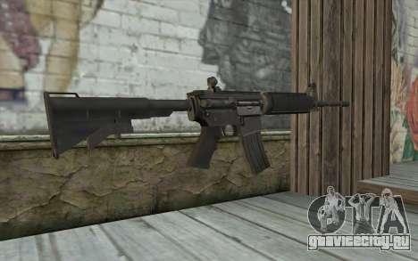 M4 from Sniper Воин-Призрак для GTA San Andreas второй скриншот