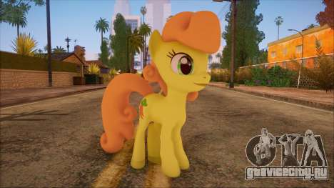 Carrot Top from My Little Pony для GTA San Andreas