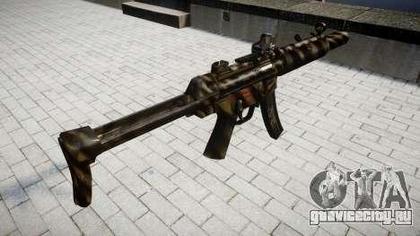 Пистолет-пулемёт MP5SD DRS FS для GTA 4 второй скриншот
