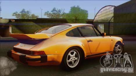Porsche 911 Turbo 1982 Tunable KIT C PJ для GTA San Andreas вид слева