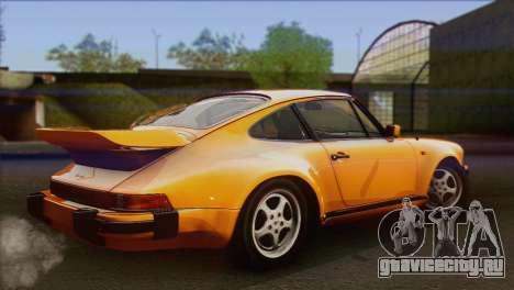 Porsche 911 Turbo 1982 Tunable KIT C PJ для GTA San Andreas вид слева
