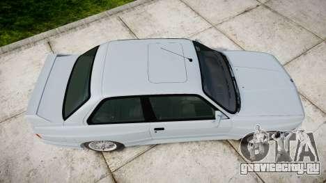 BMW M3 E30 1991 [EPM] для GTA 4 вид справа