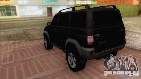УАЗ Патриот для GTA San Andreas вид слева