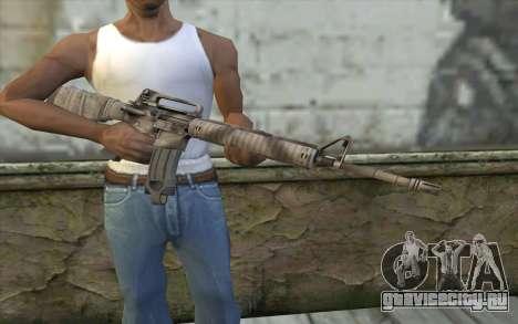 M16A4 from Battlefield 3 для GTA San Andreas третий скриншот